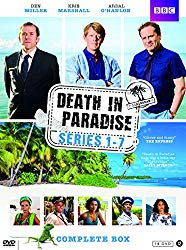 Death In Paradise - Complete Series 1 + 2 + 3 + 4 + 5 + 6 + 7 (14 DVD Box Set Collection)