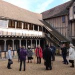 Lord Leycester Hospital - Grade I listed - medieval courtyard - photo by Juliamaud