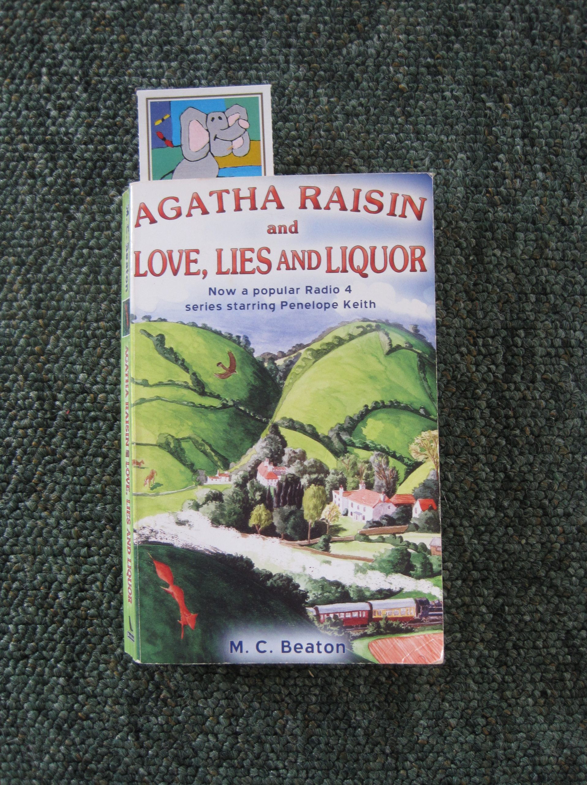 Agatha Raisin and Love Lies and Liquor - photo by Juliamaud